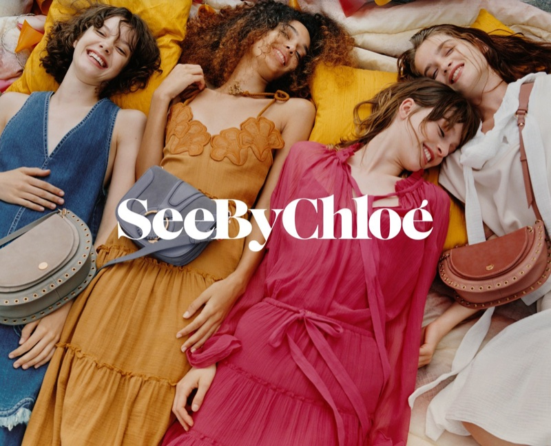 See by Chloe Exudes Free-Spirited Vibes for Summer 2018 Campaign